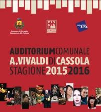 Programma Auditorium comunale A.Vivaldi stagione 2015 - 2016