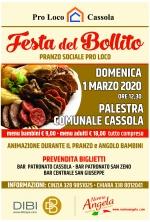 FESTA DEL BOLLITO - PRANZO SOCIALE PRO LOCO CASSOLA - Evento annullato