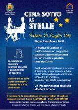 Cena sotto le stelle a Cassola - 2019